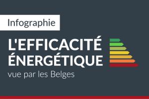 L'efficacité énergétique vue par les Belges