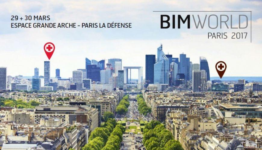 Warm aanbevolen: BIM World Paris op 29 & 30 maart 2017!